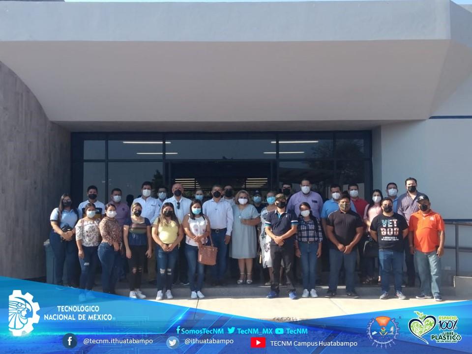 El TecNM campus Huatabampo, fue designado como Sede para la aplicación de la vacuna contra COVID19