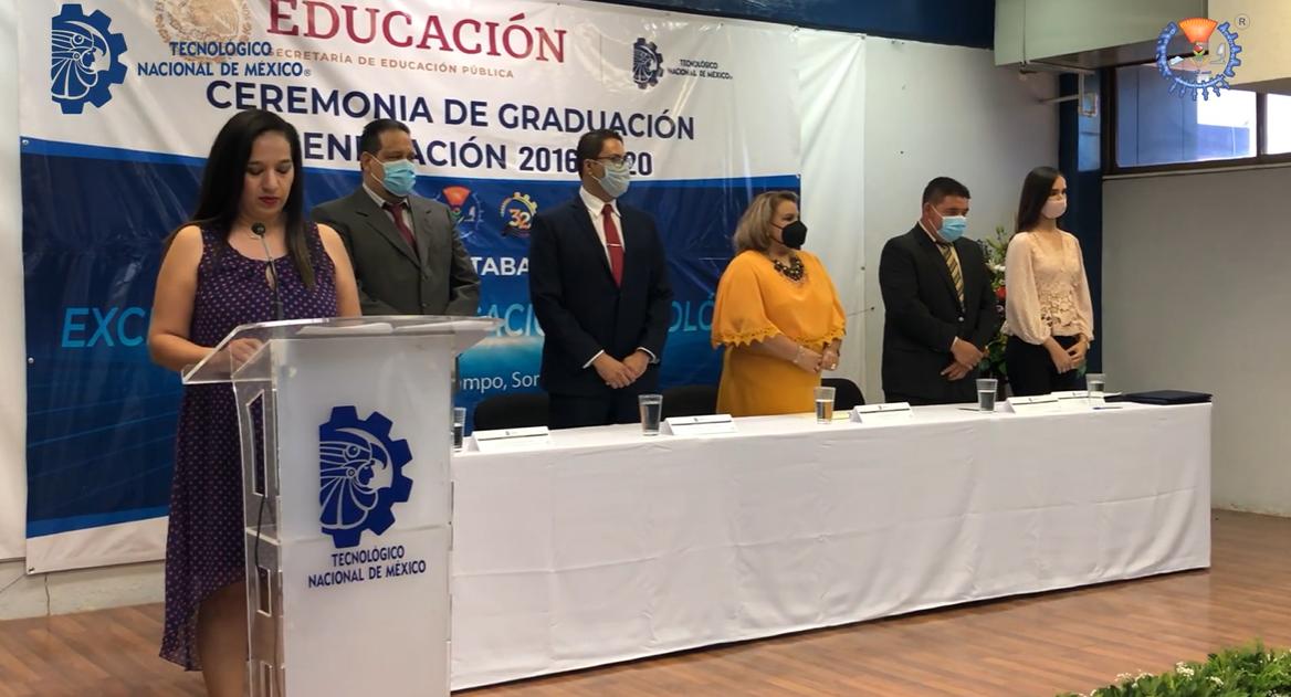 Ceremonia de Graduación Generación 2016-2020